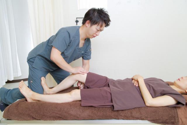 特殊器具を使用した膝の矯正